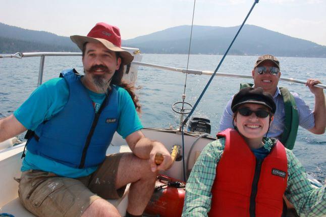 AOF, Lexi, Kyle on sailboat-Aug 2017