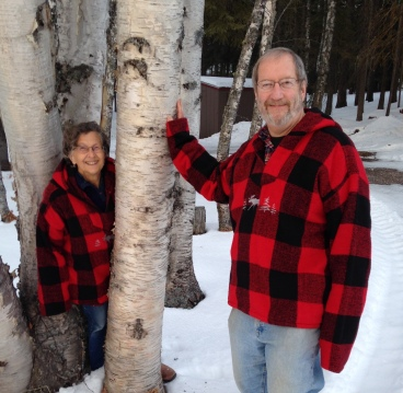 JOF-birch trees-DOF-red plaid