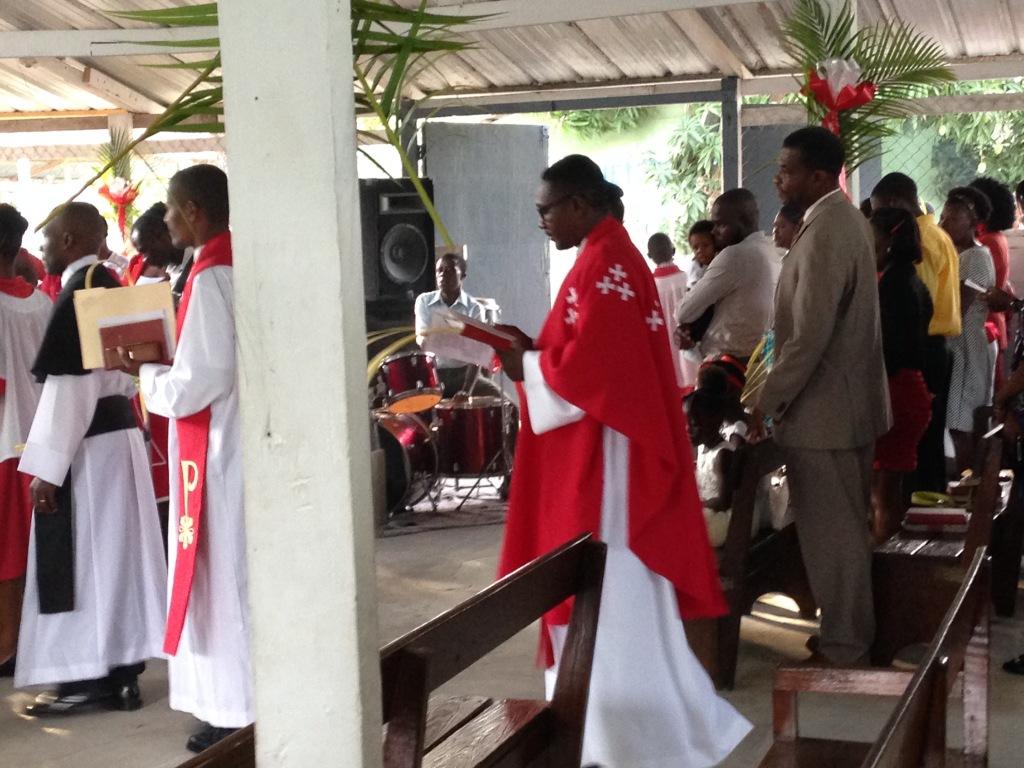 Père Sonley, Palm Sunday 2017