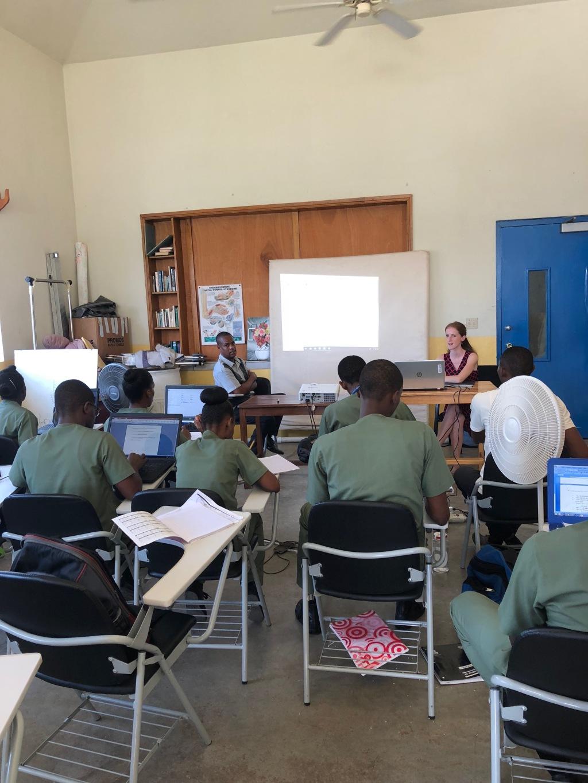 Stephanie teaching Neuroanatomy-9 Nov 2018